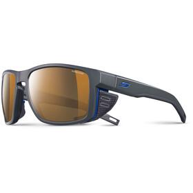 Julbo Shield Cameleon Sunglasses dark gray/black/blue-brown